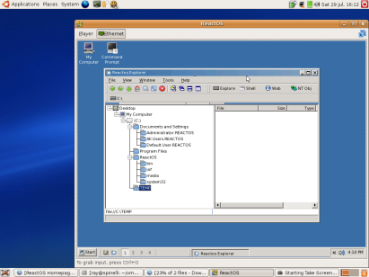 ReactOS_Explorer