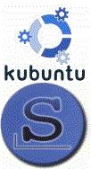 Slackware & Kubuntu Logos